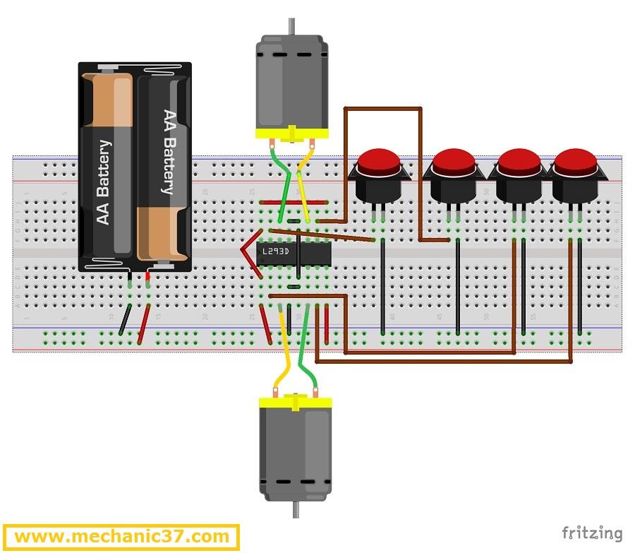 Remote Control Car कैसे बनाएं ? IC से