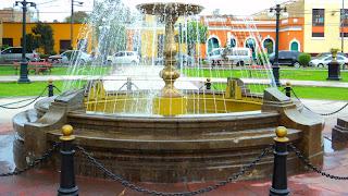 Plaza Bolívar, em Frente ao Museo Nacional de Arqueología, Antropologia e Historia del Perú