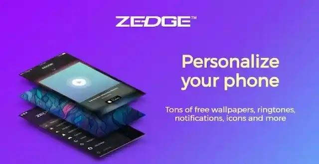 استكشف مجموعة ضخمة من الخلفيات ونغمات الرنين على Android مع ZEDGE!
