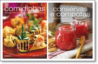livro receitas de conservas e outras comidinhas