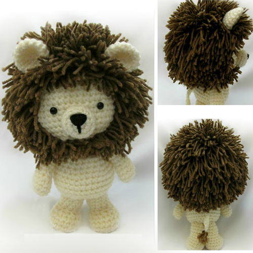 Little Bigfoot Lion - Free Pattern