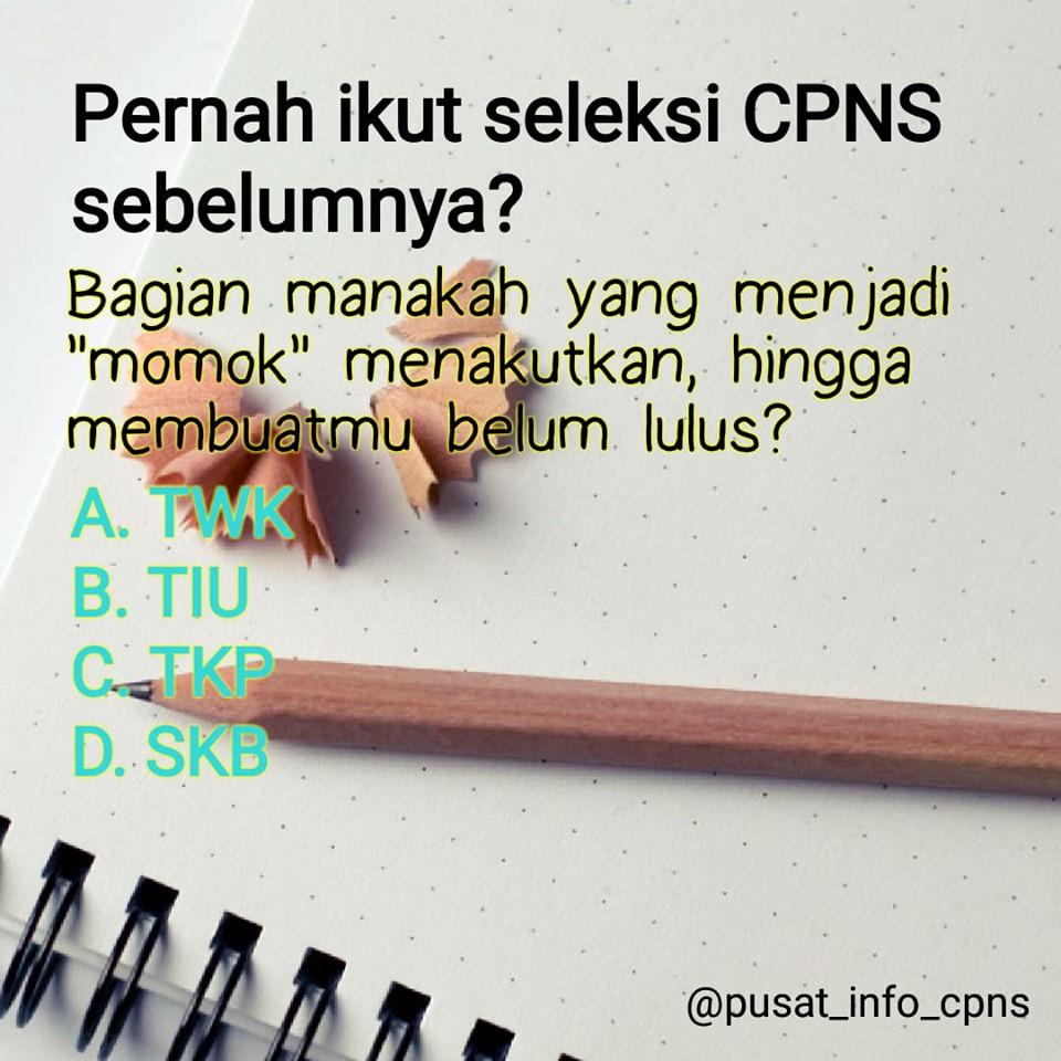 Info Cpns Pppk 2019 Pelajaran Bahasa Indonesia Momok Soal