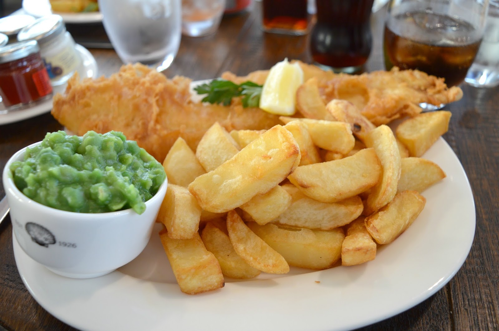 Colmans Seafood Temple, South Shields - Cod and Chips