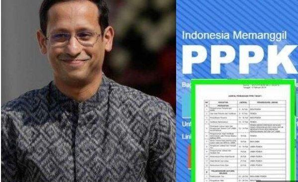 CPNS 2021 dan PPPK Akan Dibuka, Nadiem Makarim Siapkan Pengangkatan Guru Honorer Jadi Pegawai