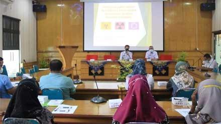 Dinas Perkim LH Sosialisasikan Pengelolaan Limbah B3 ke Fasyankes