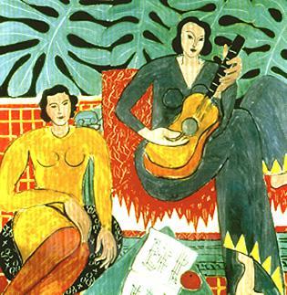 Lukisan berjudul Music karya Henri Matisse