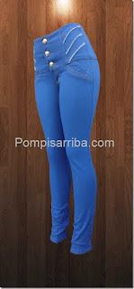 pantalones strech para dama de mayoreo quiero comprar jeans levanta pompis