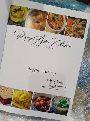 Buku Resepi Hebat Didapur Hasil Tangan Azie Kitchen