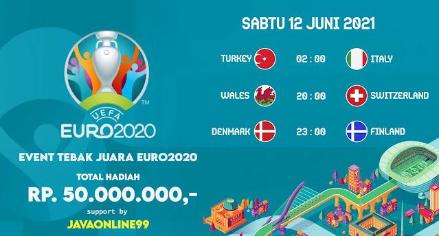 JADWAL TANDING EURO2020