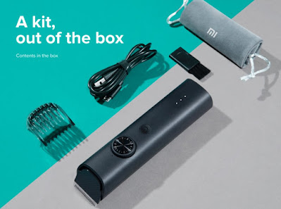 Mi trimmer box contents