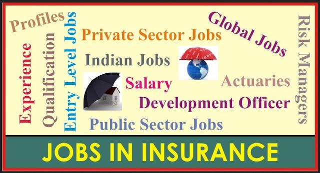 life insurance jobs salary