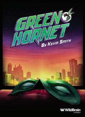 serie animada avispon verde por kevin smith