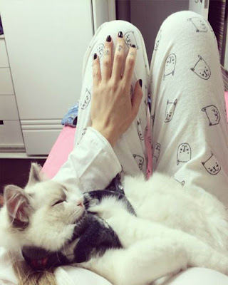 pijama blanca tumblr casual de moda