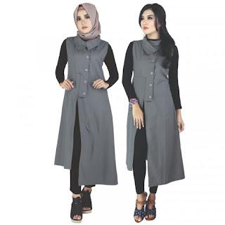 Baju Muslim Wanita Panjang Bahan Katun