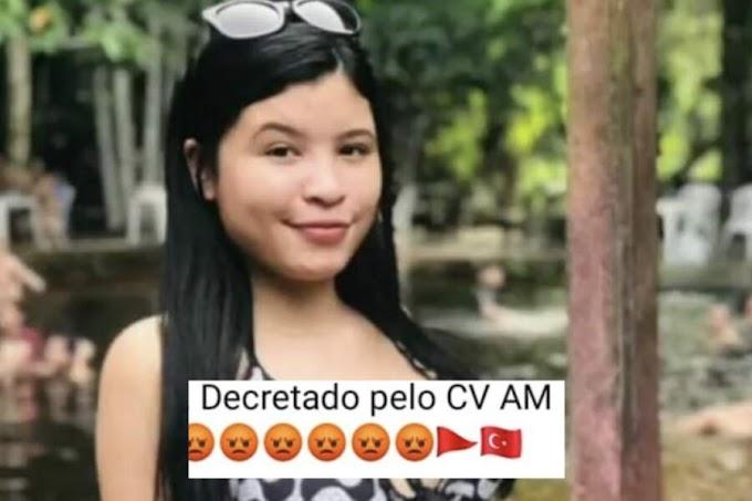 Antes de ser executada com tiros na cabeça, jovem compartilhou recado do CV nas redes sociais