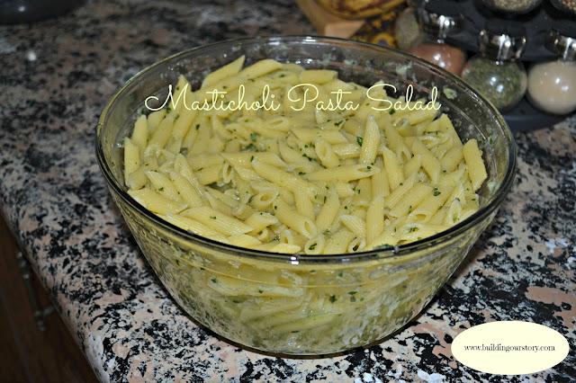 Masticholi Pasta Salad Recipe