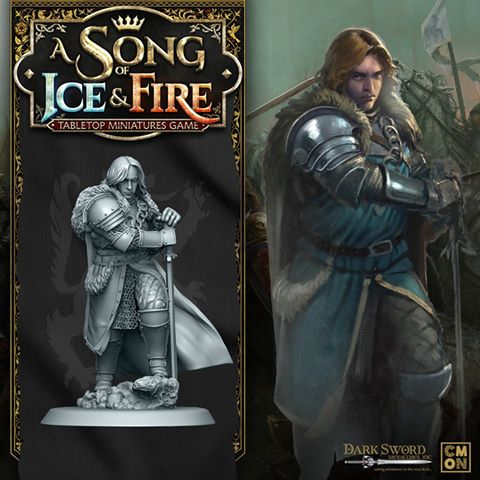 Cool Mini or Not: A Song of Ice and Fire - Stark Sworn Sword and Rob Stark Miniatures Preview