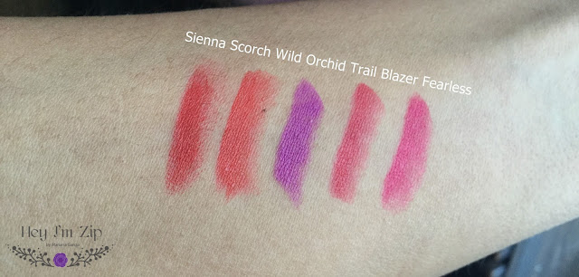 Kleancolor Madly Matte Lipsticks Review Shades and Swatches