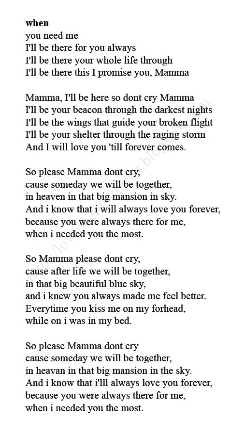 I love you forever poems for her