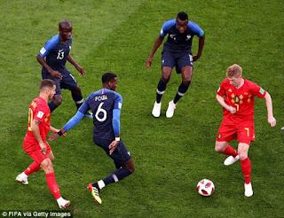 Video Pháp - Bỉ: Khoảnh khắc vàng, hiên ngang vào chung kết