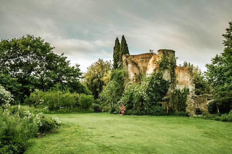 Ruinas del castillo medieval