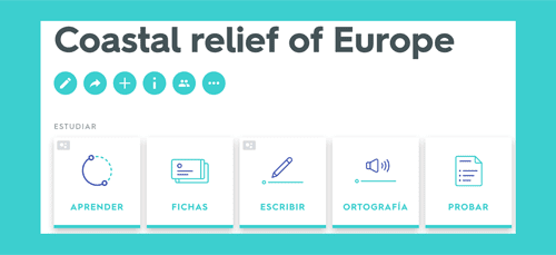 Coastal relief of Europe Quizlet Study unit