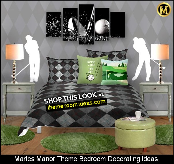 golf bedroom decor golf bedroom decorating golf decor golfing bedding golfer bedrooms