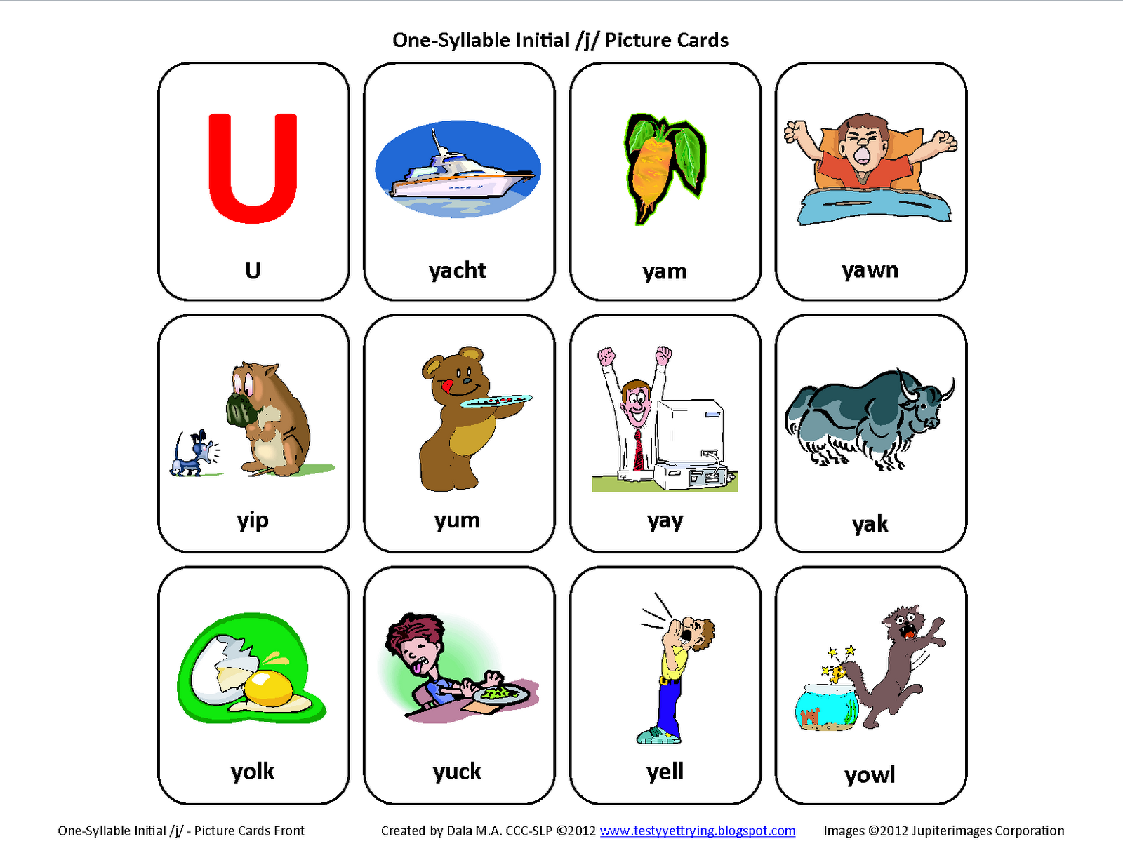 how to make speech cards on word