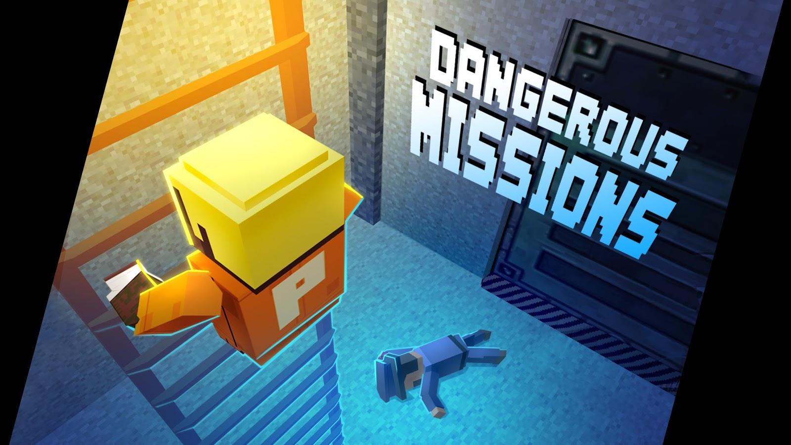 Alcatraz Pixel Prison Heist Gangster Escape Room MOD apk