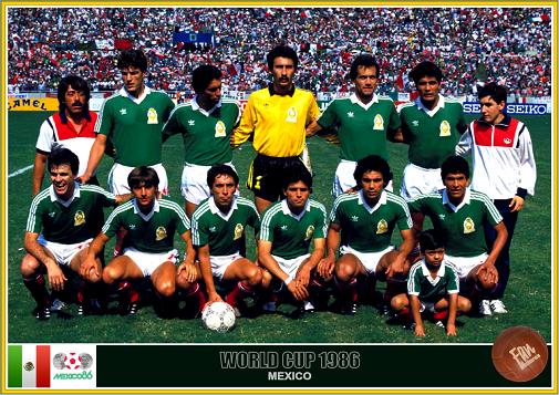 Resultado de imagem para mexico 1986 world cup