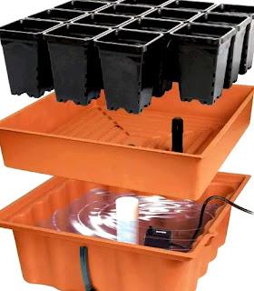 Peralatan pot buat budidaya teknik hidroponik