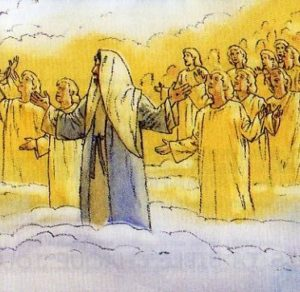 Gesù in Cielo