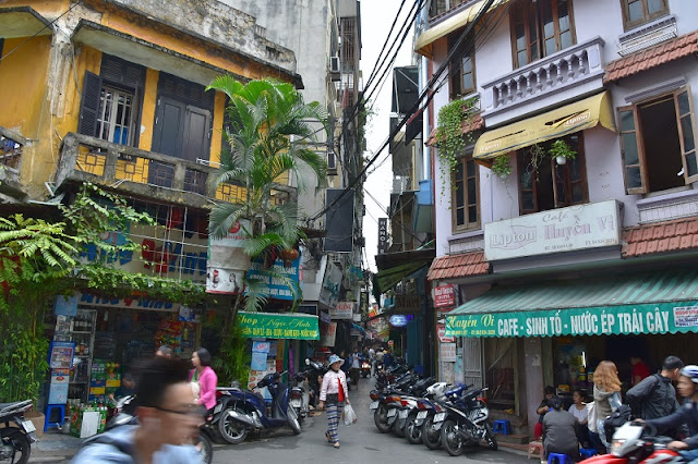 Hanoi's Old Quarter - Vietnam beauty