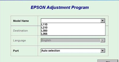 Download Resetter Epson L110 L210 L300 L350 or L355 For ...