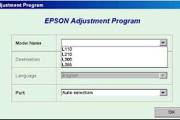 Download Resetter Epson L110 L210 L300 L350 Or L355 For Windows