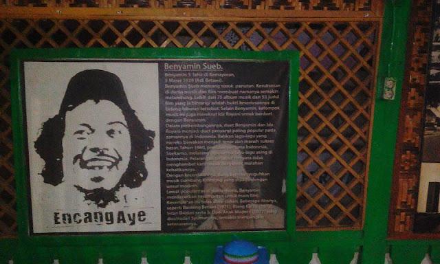 Di Suatu Senja di Perkampungan Budaya Betawi Setu Babakan Srengseng Sawah Jagakarsa.