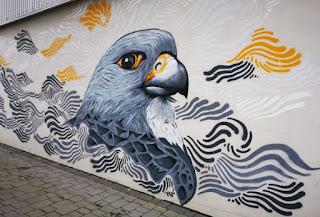 Street Art o arte urbano en Reykjavík.