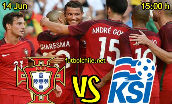 VER STREAM RESULTADO EN VIVO, ONLINE: Portugal vs Islandia