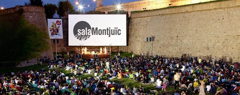 Viajar a barcelona cine al aire libre barcelona for Cinema montjuic 2016