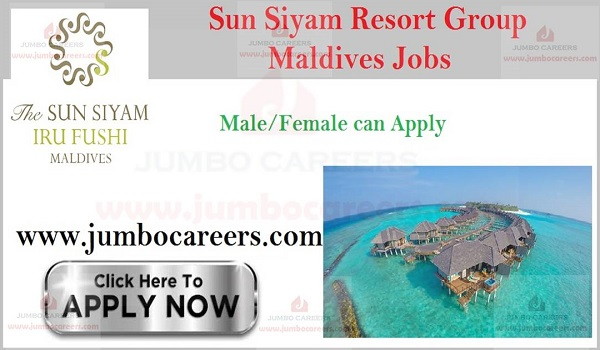Latest Resort jobs in Maldives, Ur gent jobs in Maldives,