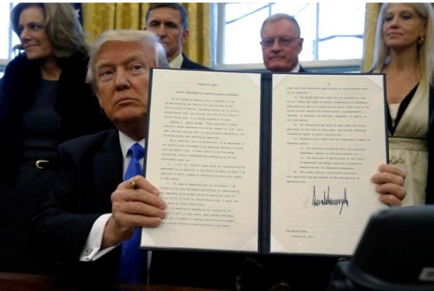 Trump signs Executive Order for Americans to be employed based on skill, not degrees