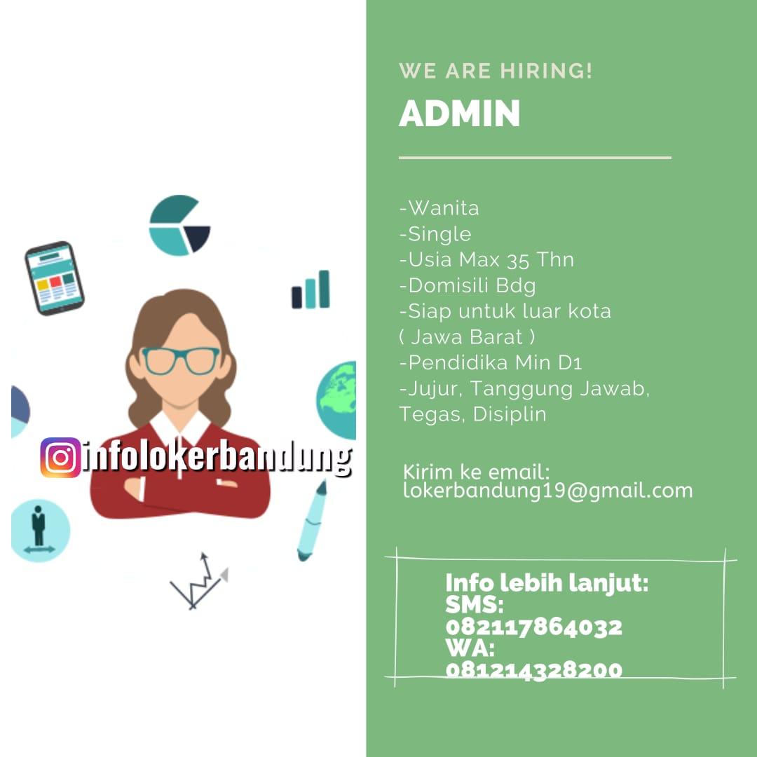 Lowongan Kerja Admin CV. Artha Graha Bandung Desember 2019