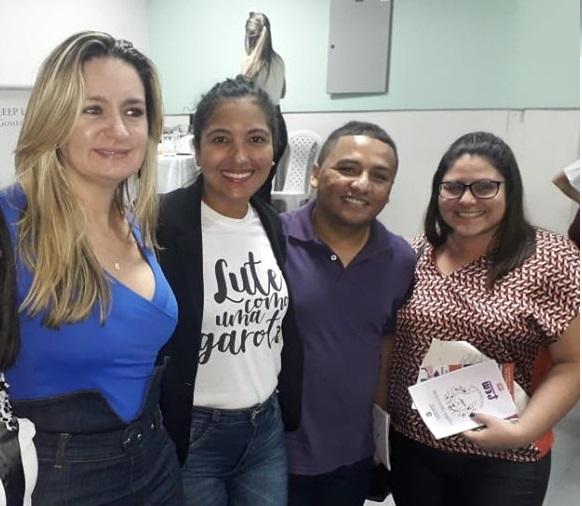 Evento: Senadorsaenses participam da Caravana Estadual de Combate a Violência contra Mulher.