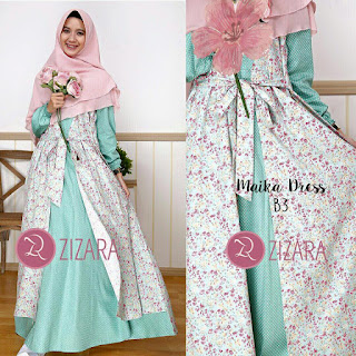 Gamis Zizara Maika Dress B3