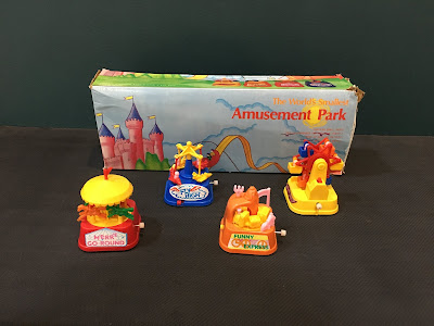 1980s Old Day Retro Clock Work Toys
