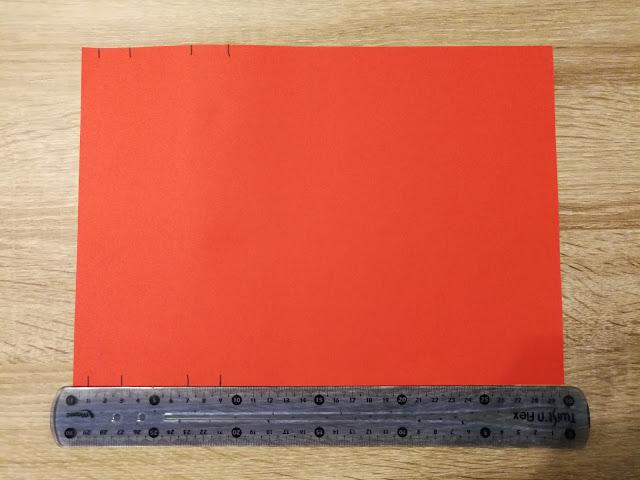 Kynttiläkortti, mittausohje
