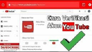 Cara Verifikasi Akun Youtube di PC