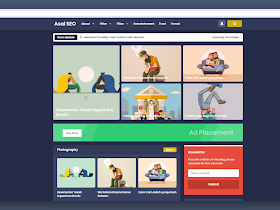 Asalseo Clone Template (Blogger Template Free Download) - Responsive Blogger Template