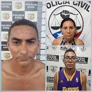 Lima Campos: Polícia Civil prende três pessoas por tráfico de drogas.