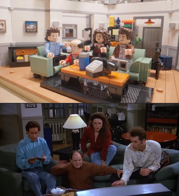 LEGO Ideas Seinfeld set sitcom official released